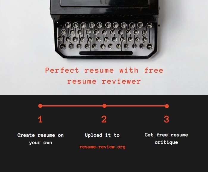 Writing A Perfect Resume With Free Resume 24 7 Reviewer S Assistance