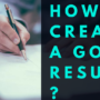Your career and, possibly, your entire future life depends on how this document is written. Learn more about what you need to know in order to create a good resume.
