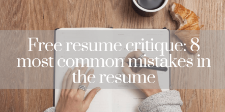 Free Resume Writing Help to Everyone